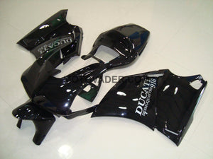 Ducati 748 1998-2002 Black With Silver Decals Fairing