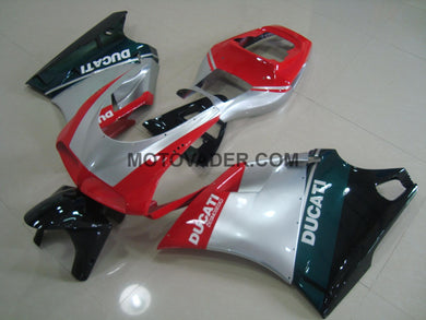 Ducati 748 1998-2002 Silver Tri-Color Fairing