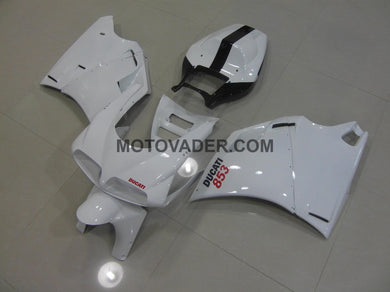 Ducati 748 1998-2002 White Number 853 Fairing