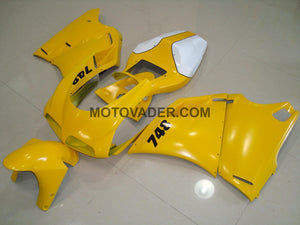 Ducati 748 1998-2002 Yellow 3 Fairing