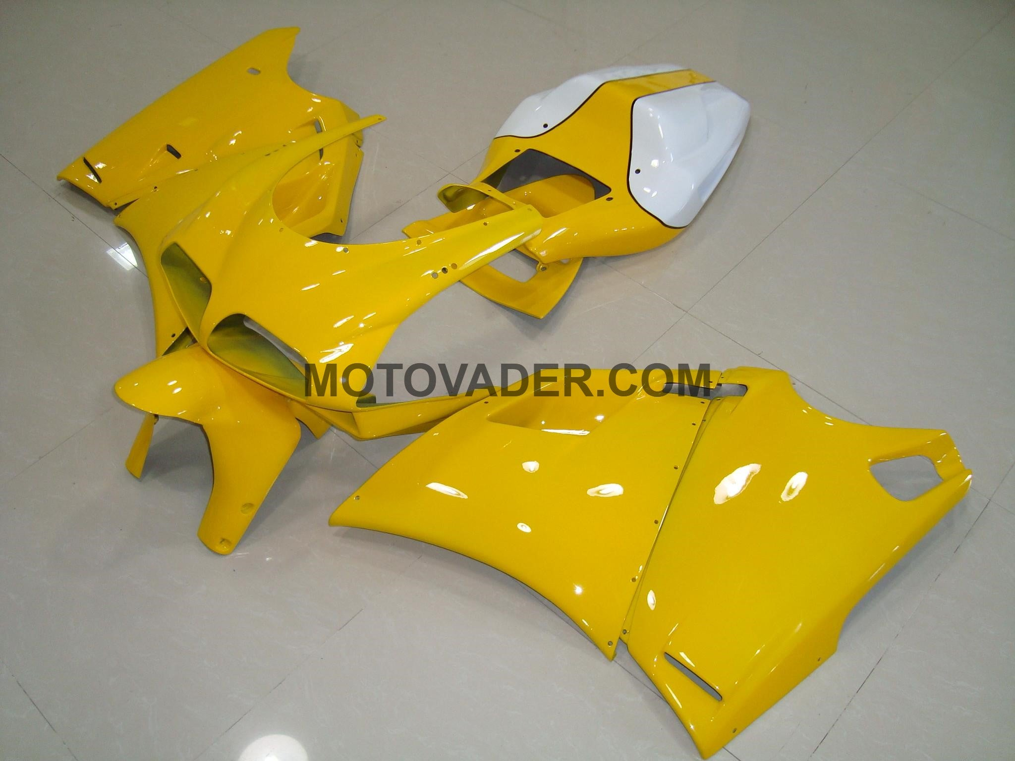 Ducati 748 1998-2002 Yellow No Decals Fairing