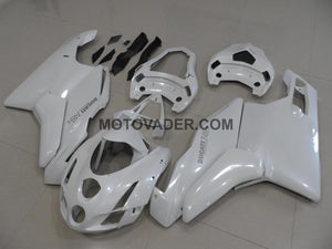 Ducati 999 2003-2004 All Pearl White Fairing