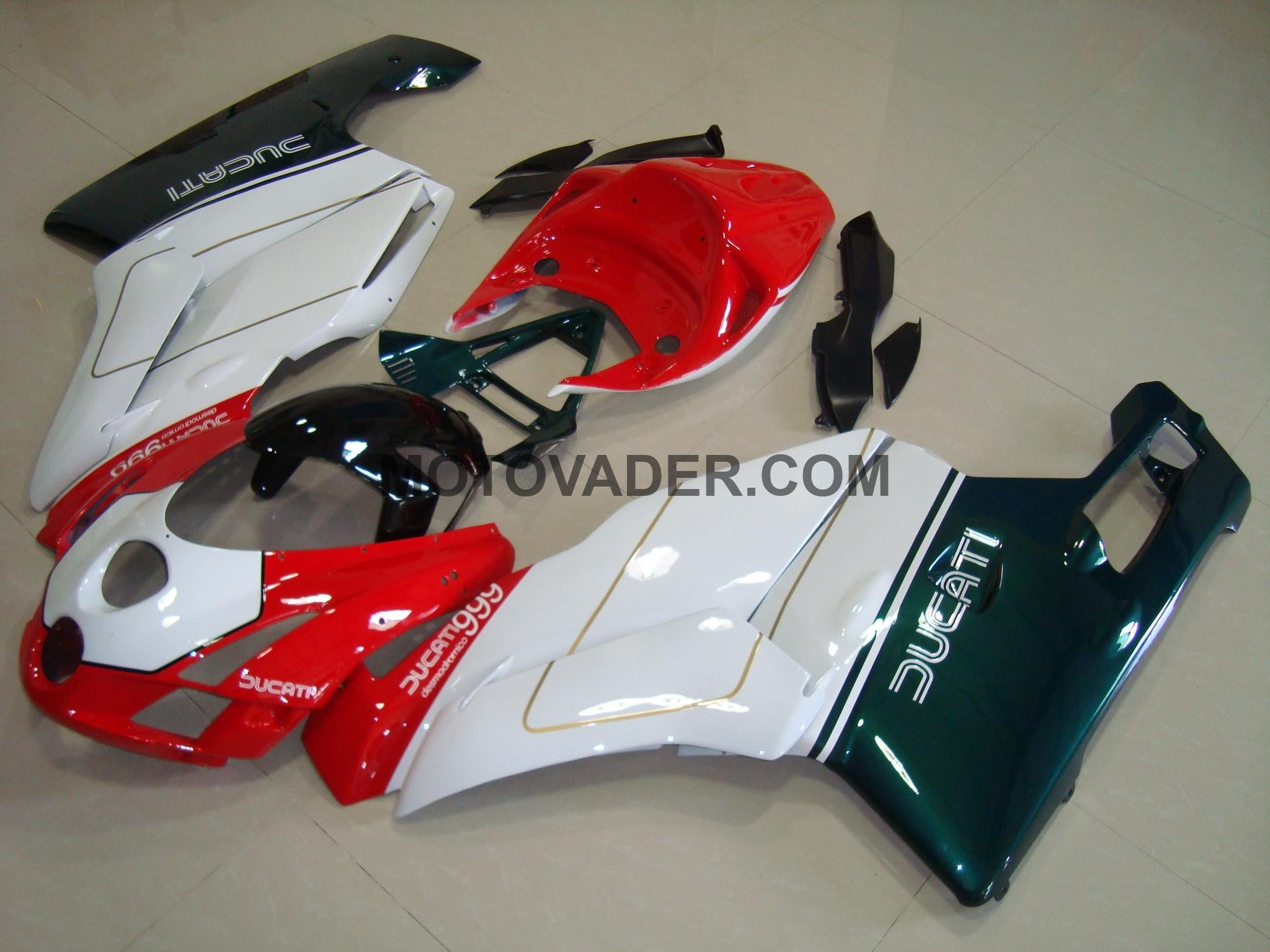 Ducati 999 2003-2004 Tri-Color Fairing
