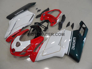 Ducati 749 2003-2004 Tricolor With Tail Open Fairing