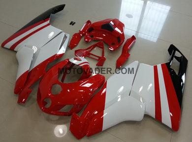Ducati 749 2005-2006 Red & White 2 Fairing