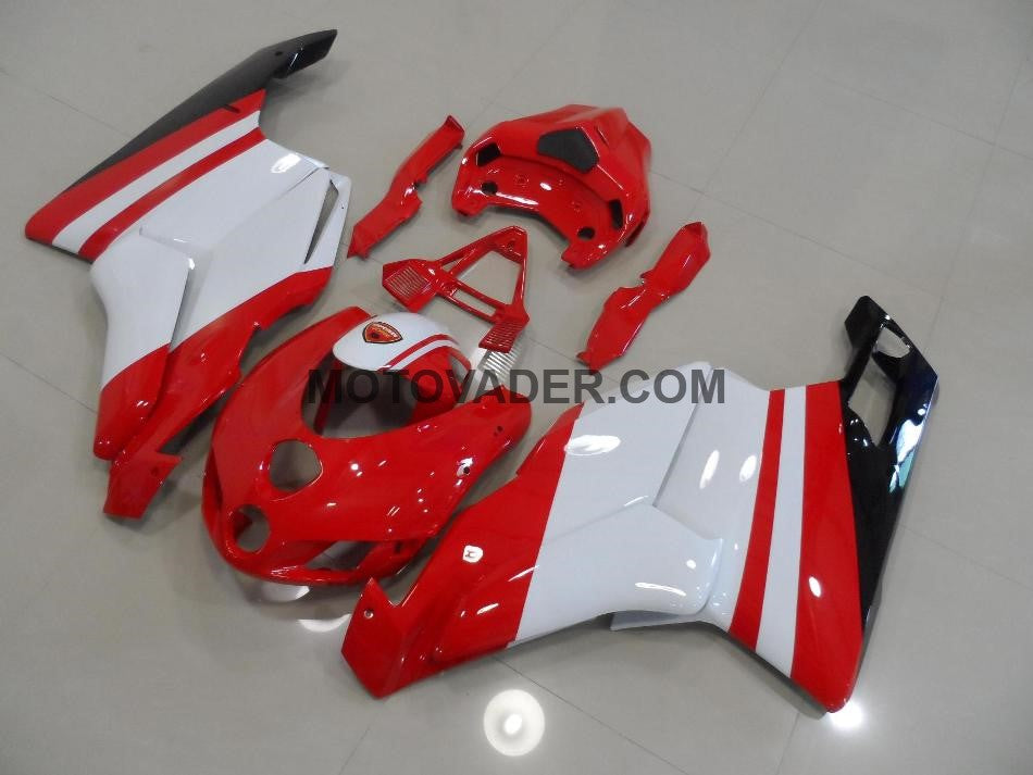 Ducati 999 2005-2006 Red & White Fairing