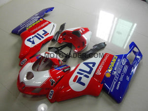 Ducati 749 2005-2006 Red Fila Fairing