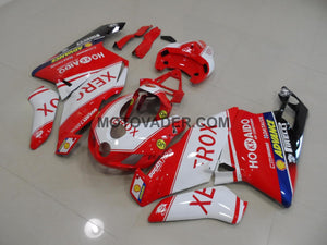 Ducati 999 2005-2006 Xerox Red & White Fairing
