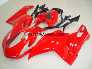 Ducati 848 2007-2012 All Red 4 Fairing