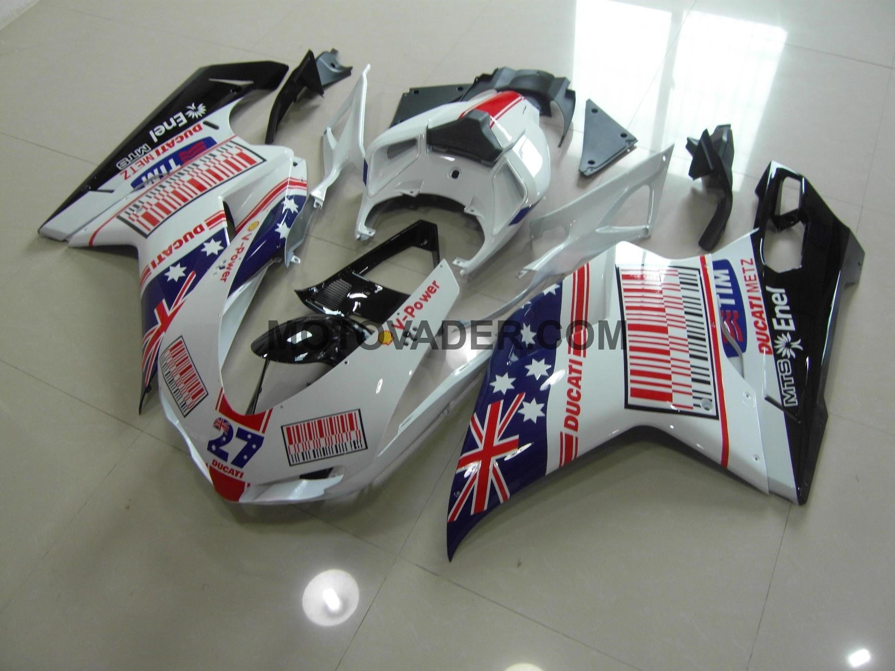 Ducati 848 2007-2012 New Aus 27 Fairing