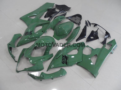 Suzuki GSXR 1000 2005-2006 Green Fairing