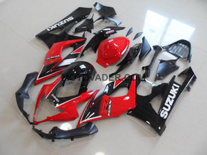 Suzuki GSXR 1000 2005-2006 Red & Black Fairing
