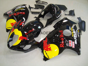 Suzuki GSXR 1300 Hayabusa 1999-2007 Black Red Bull 3 Fairing