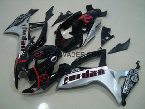 Suzuki GSXR 600 2006-2007 Red Jordan Fairing