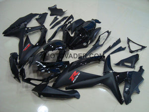 Suzuki GSXR 750 2008-2010 All Black 4 Fairing