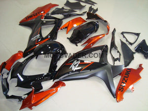 Suzuki GSXR 750 2008-2010 Black & Orange 2 Fairing
