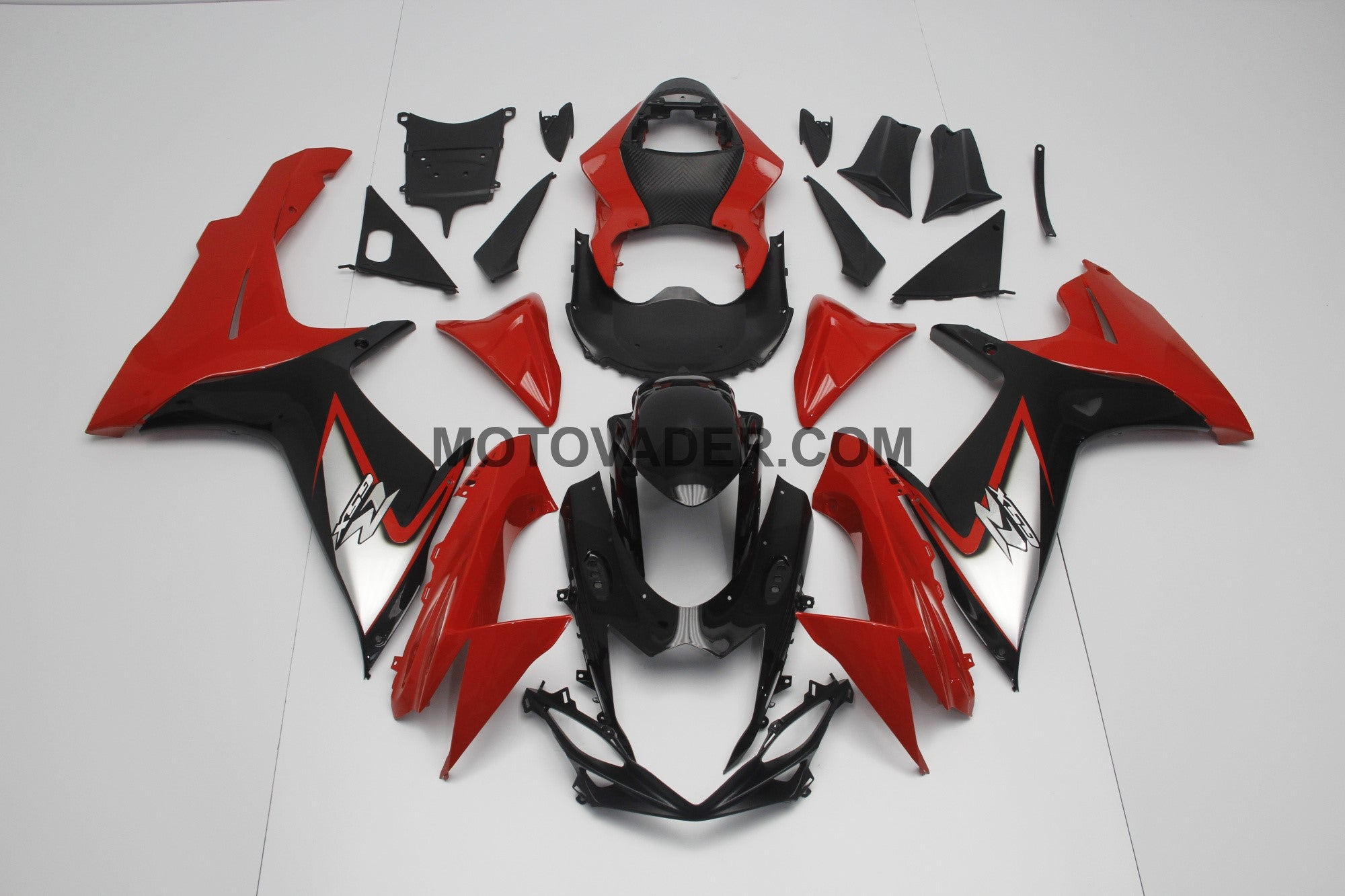 Suzuki GSXR 750 2011-2013 Red Without Sticker Fairing