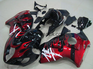 Suzuki GSXR 1300 Hayabusa 1999-2007 Red Flame Fairing