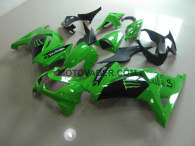 Kawasaki Ninja 250R 2008-2012 New Green Monster Fairing