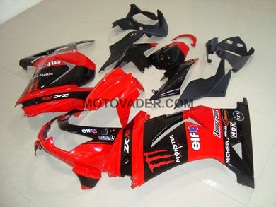 Kawasaki Ninja 250R 2008-2012 Red Monster 2 Fairing