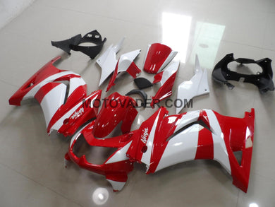 Kawasaki Ninja 250R 2008-2012 Red & White Fairing
