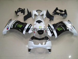 Kawasaki Ninja 250R 2008-2012 White Monster Fairing
