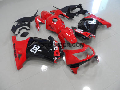 Kawasaki Ninja 250R 2008-2012 Red & Black With Tank Cover Fairing