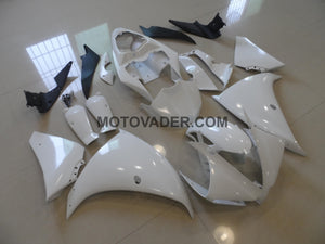 Yamaha R1 2012-2013 White Prime Painted Fairing