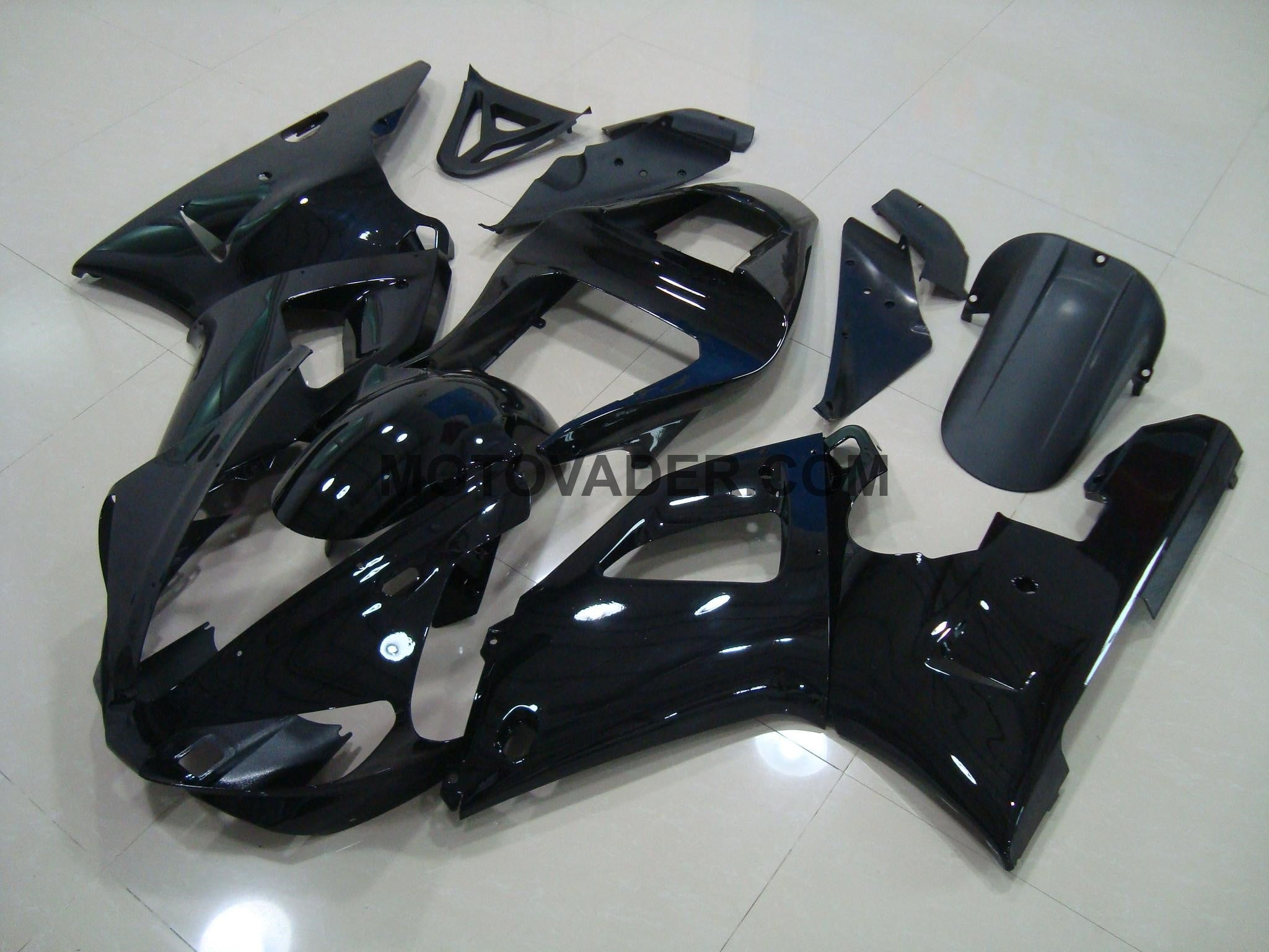 Yamaha R1 2000-2001 All Black 2 Fairing