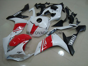 Yamaha R1 2007-2008 Red & Pearl White 2 Fairing