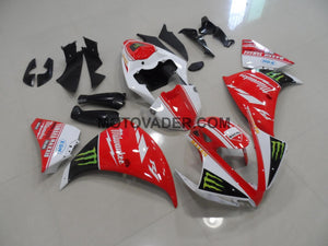 Yamaha R1 2012-2013 Red Monster Fairing