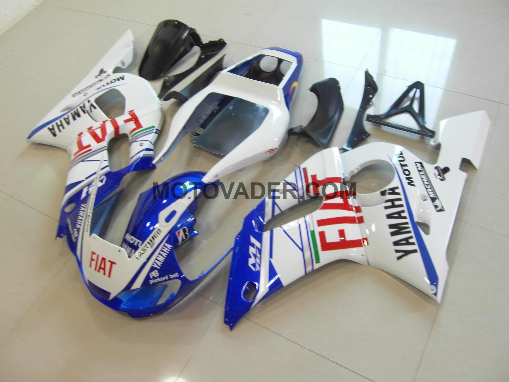 Yamaha R6 1999-2002 Fiat With Sun & Moon Sticker Fairing