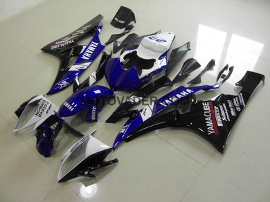 Yamaha R6 2006-2007 Gloss Black & Blue Fairing