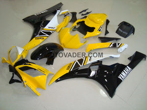 Yamaha R6 2006-2007 Yellow 3 Fairing