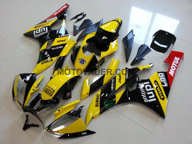 Yamaha R6 2006-2007 Yellow Monster Lupi Fairing