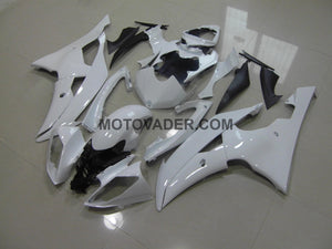 Yamaha R6 2008-2012 All Pearl White Without Decals Fairing