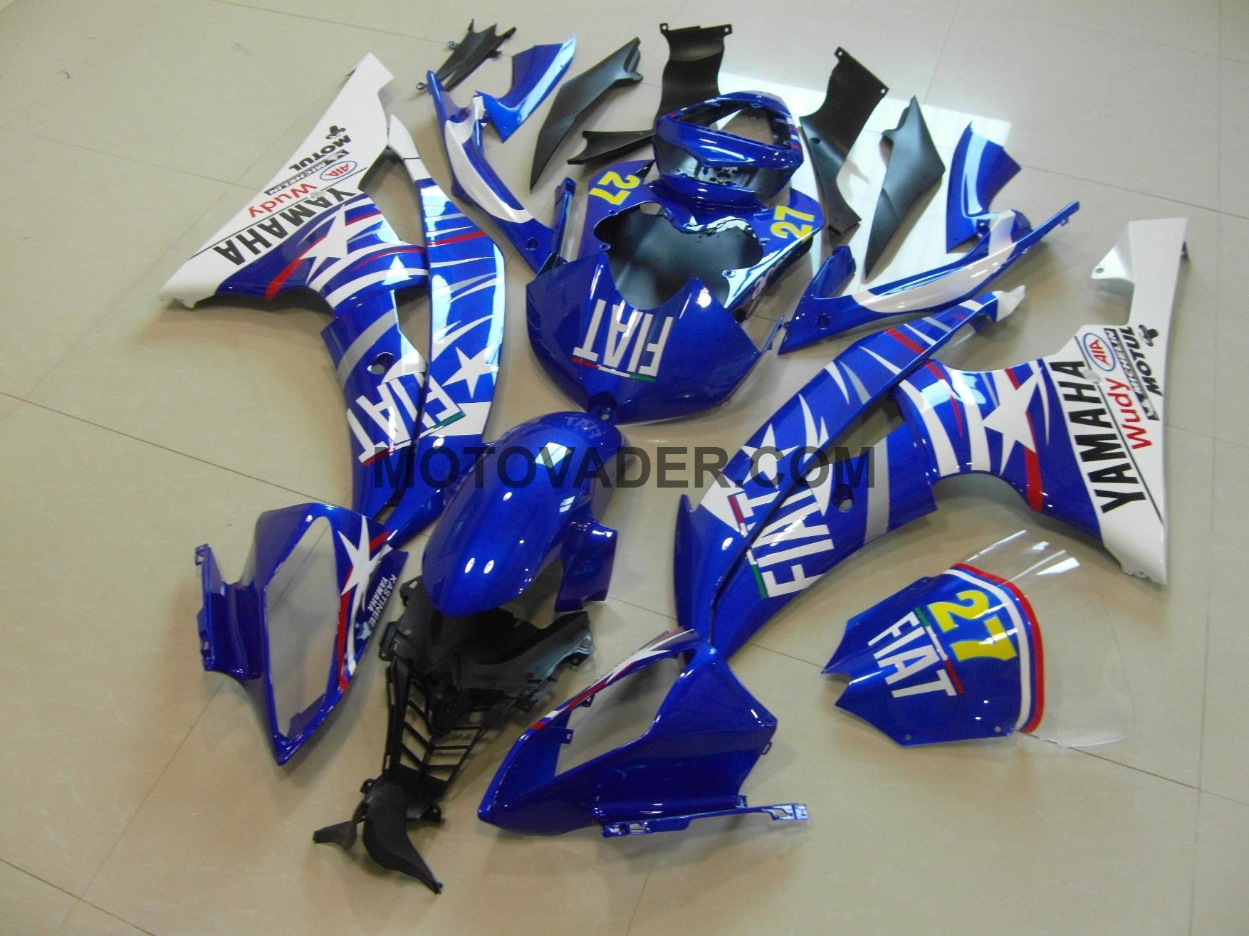 Yamaha R6 2008-2012 Blue Star Fiat  Fairing