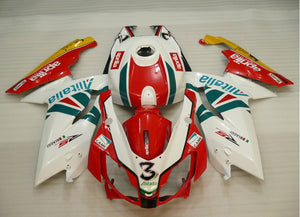 Aprilia RS125 2006-2011 Red & White Alitalia 3 Fairing
