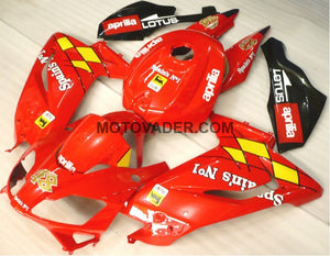 Aprilia RS125 2006-2011 All Red Fairing