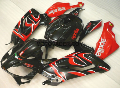 Aprilia RS125 2006-2011 Black & Red Fairing