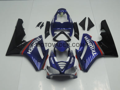 Triumph Daytona 675 2009-2011 Blue & Black Fairing