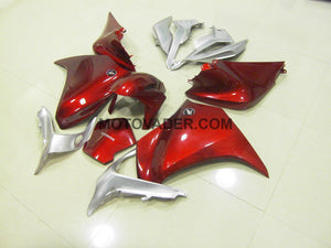 Honda VFR 1200 2010-2013 Red & Silver Fairing