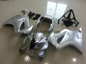 Honda VFR 800 2002-2012 All Silver Fairing