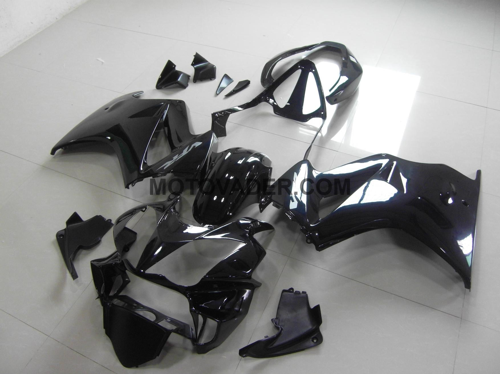 Honda VFR 800 2002-2012 Gloss Black Fairing