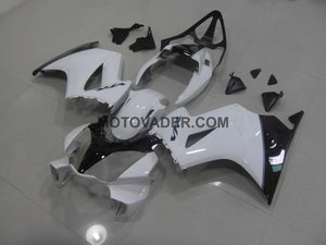 Honda VFR 800 2002-2012 White & Black Fairing