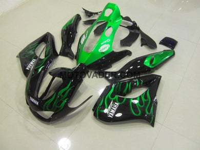 Yamaha YZF 1000R 1996-2007 Green Flame Fairing