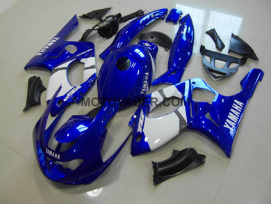 Yamaha YZF 600R 1999-2007 Blue & White 2 Fairing