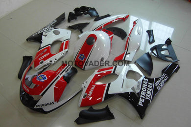 Yamaha YZF 600R 1999-2007 Red & White & Black Fairing