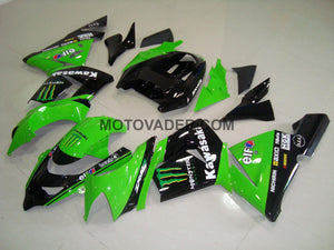 Kawasaki ZX-10R 2004-2005 Green Monster 2 Fairing