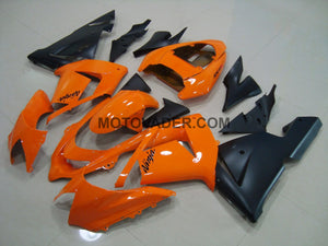 Kawasaki ZX-10R 2004-2005 Orange & Matt Black Fairing
